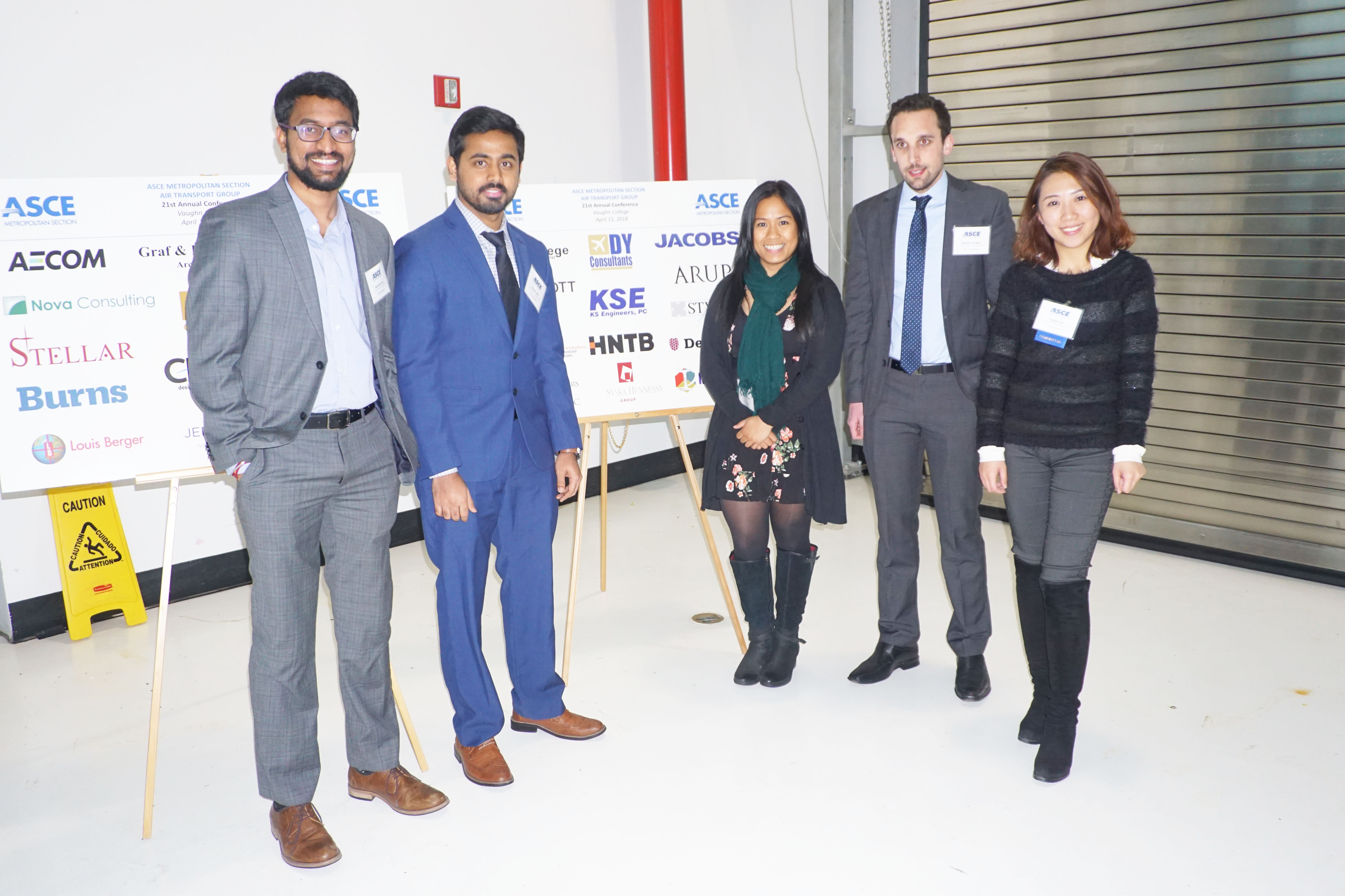 DY Consultants at 21st Annual ASCE Conference